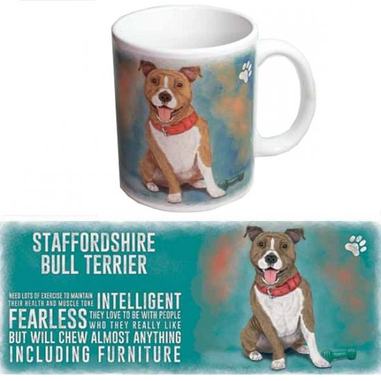 Koffie beker Bull terrier hond