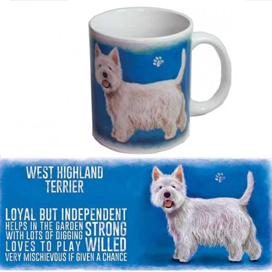 Koffie beker West Higland terrier hond