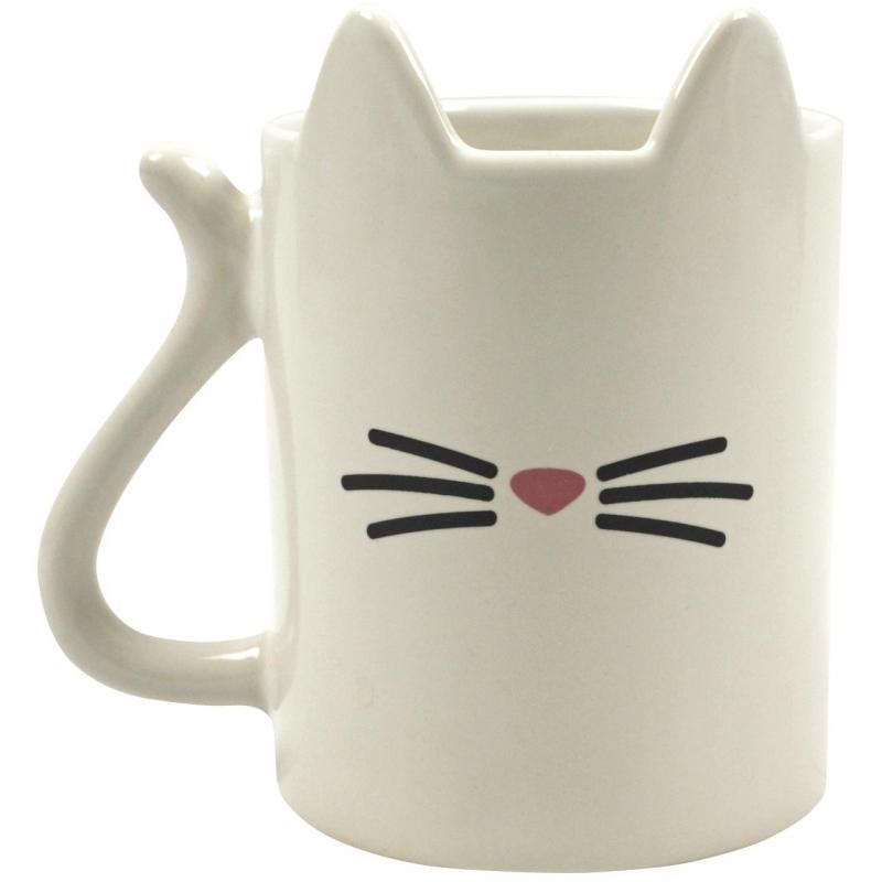 Koffiemok met kattenontwerp 350 ml