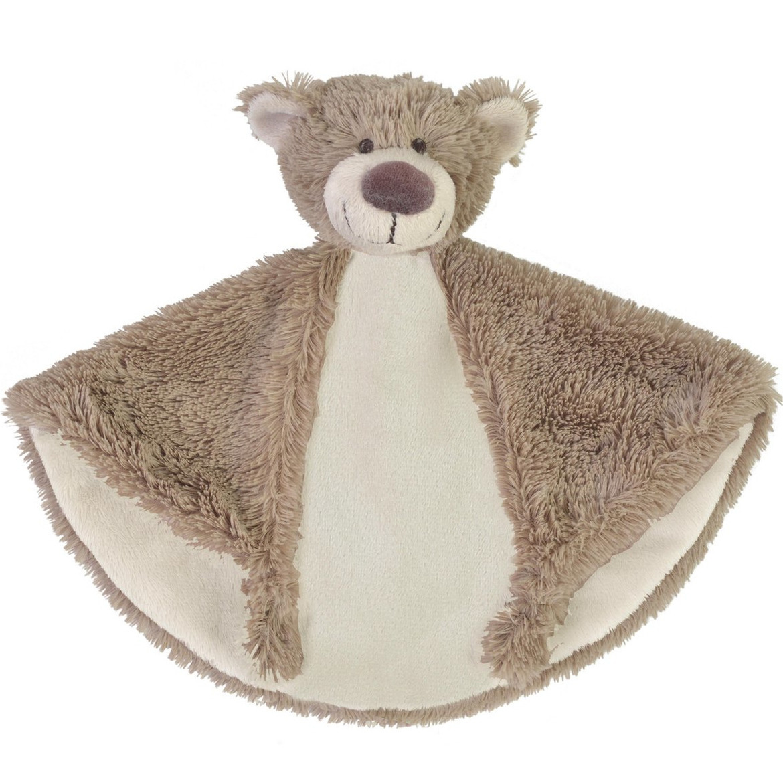 Kraamkado knuffeldoekje beer Bella