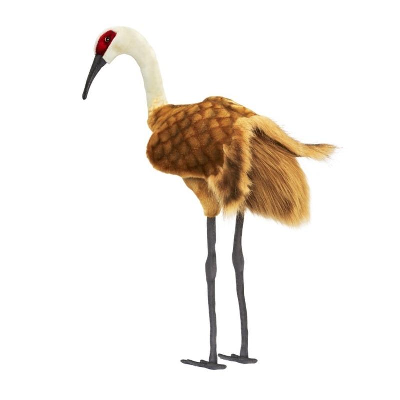 Kraanvogel knuffel 75 cm