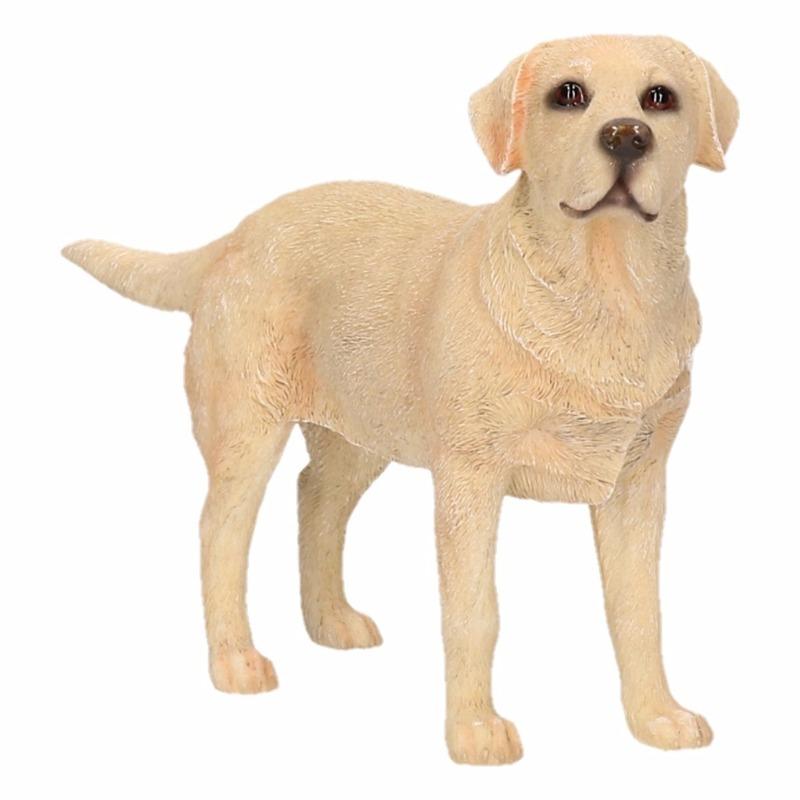 Labrador decoratie beeldje 15 cm