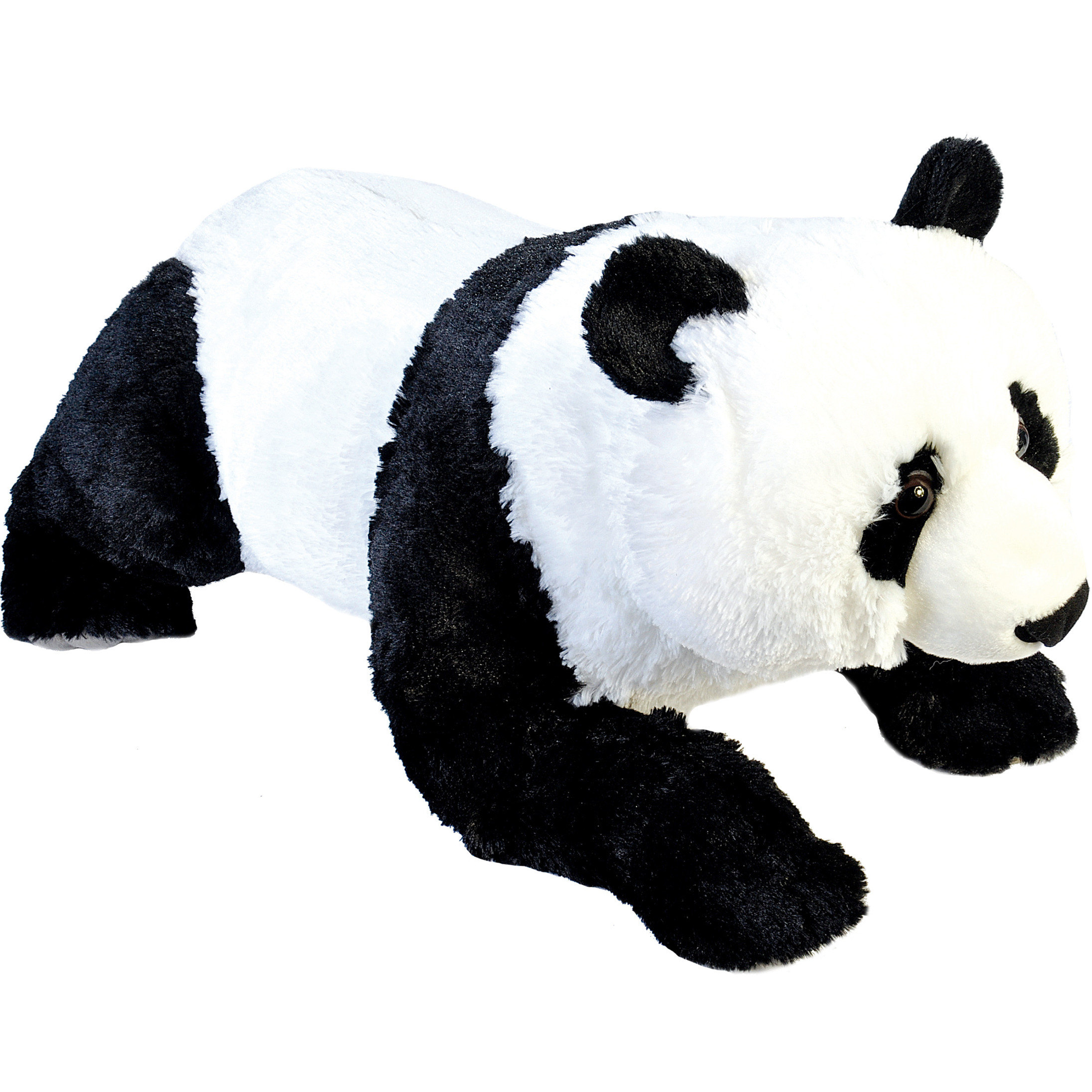 Liggende panda knuffel 76 cm