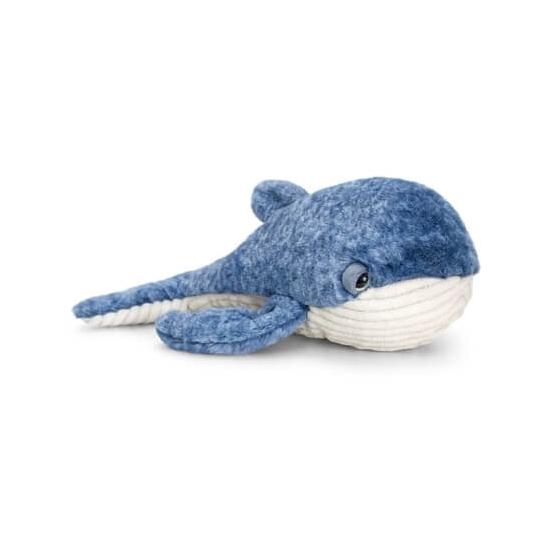 Liggende walvis knuffeldier 35cm