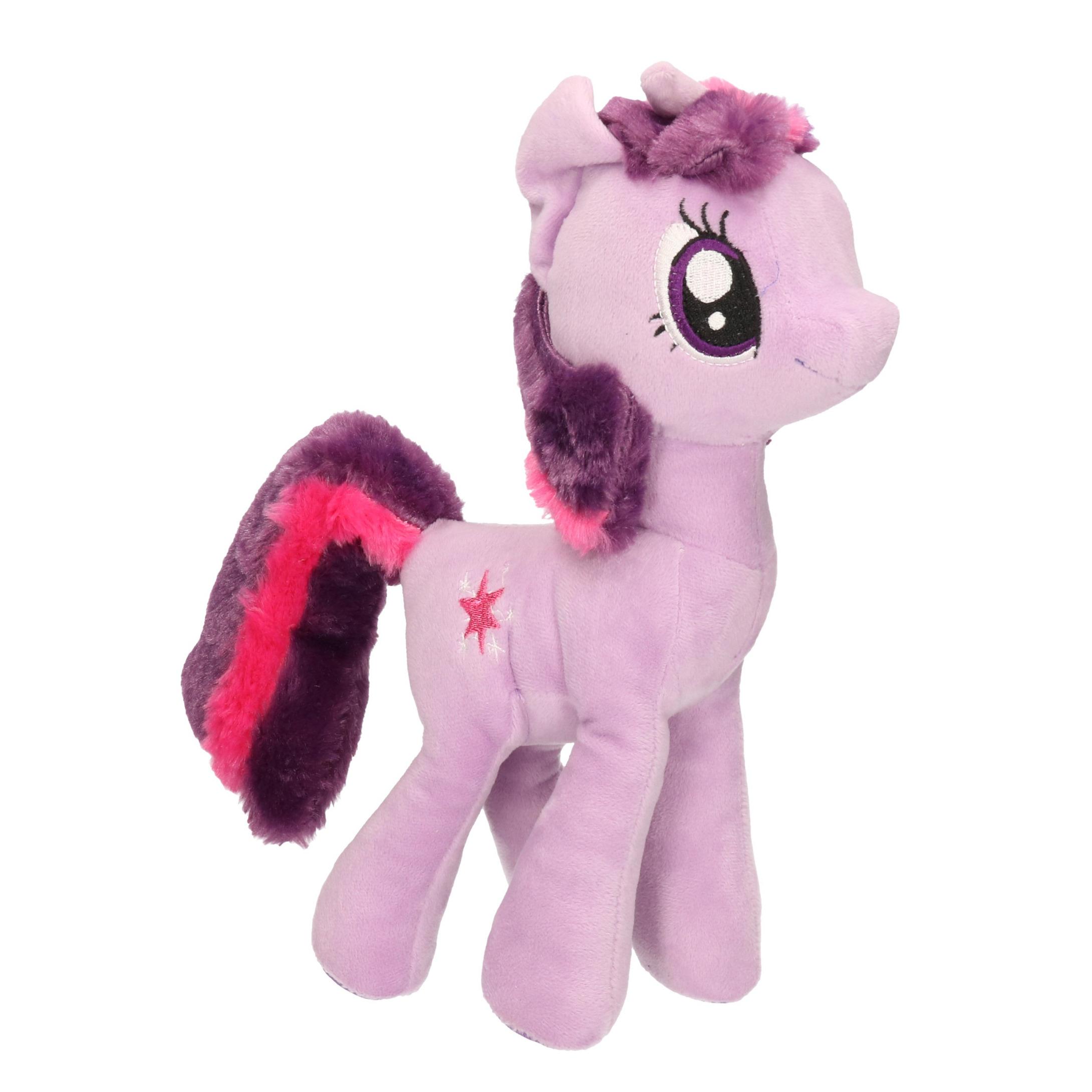 Lila/paarse My Little Pony knuffels Twilight Sparkle 30 cm knuffeldieren