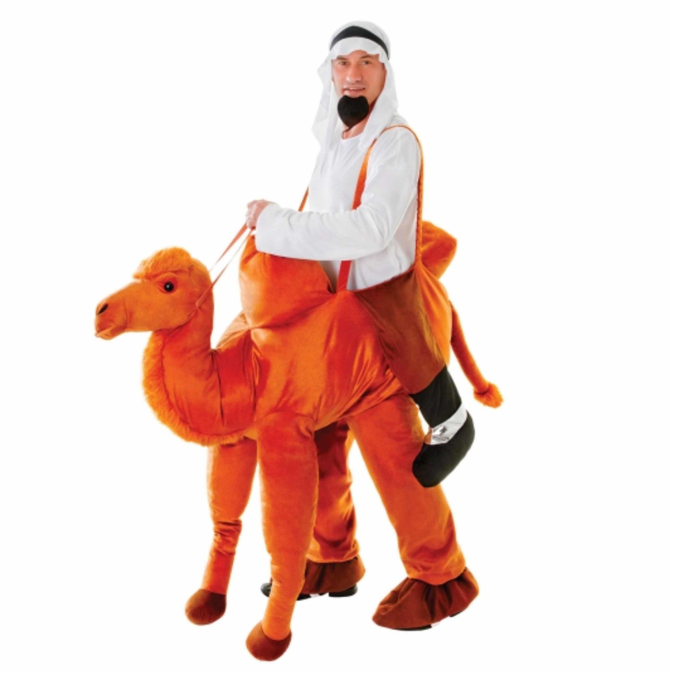 Luxe instap kamelen kostuum