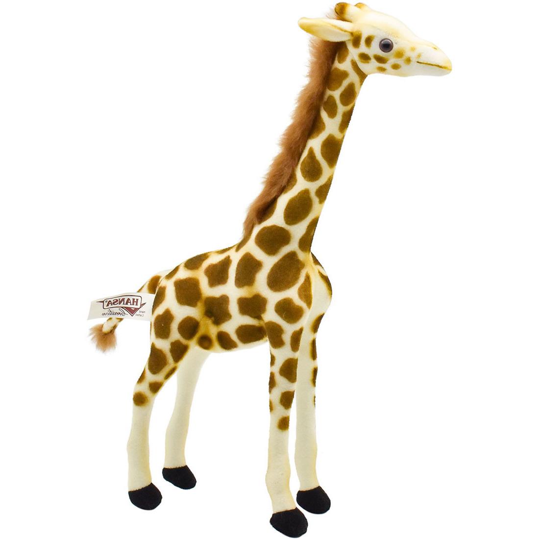 Luxe knuffels pluche giraffe 27 cm