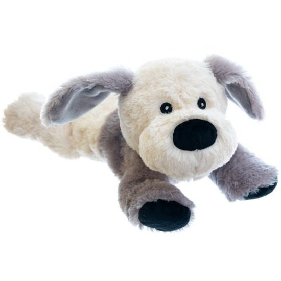 Magnetron knuffel hond 18 cm