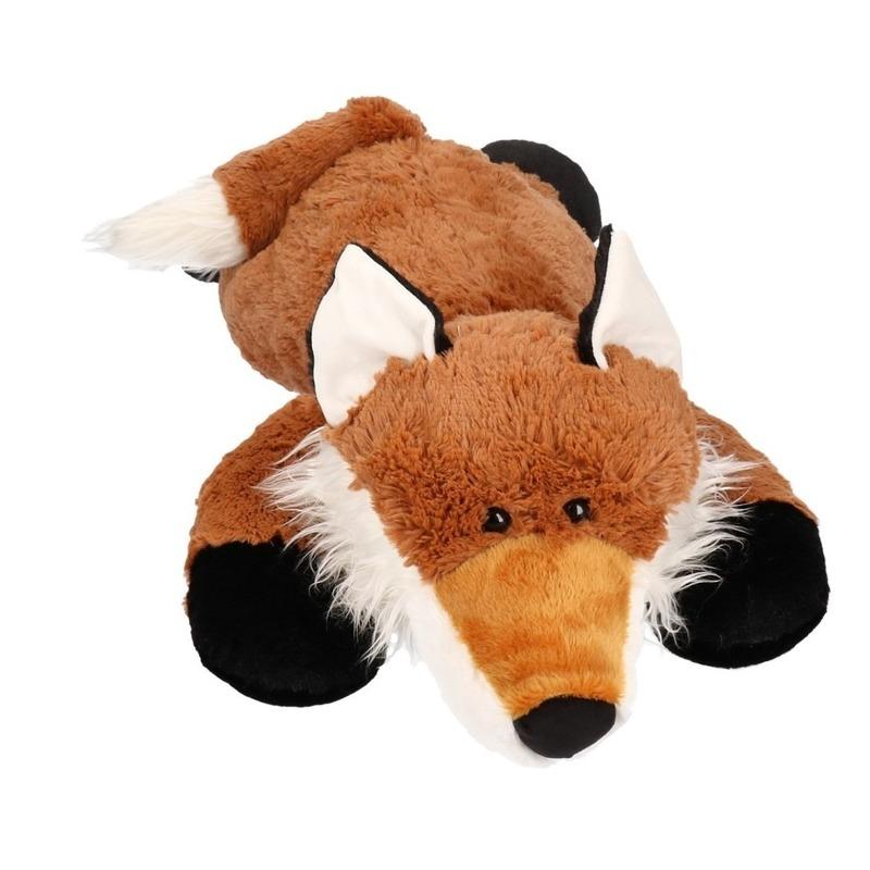 Mega grote vos pluche knuffel 80 cm