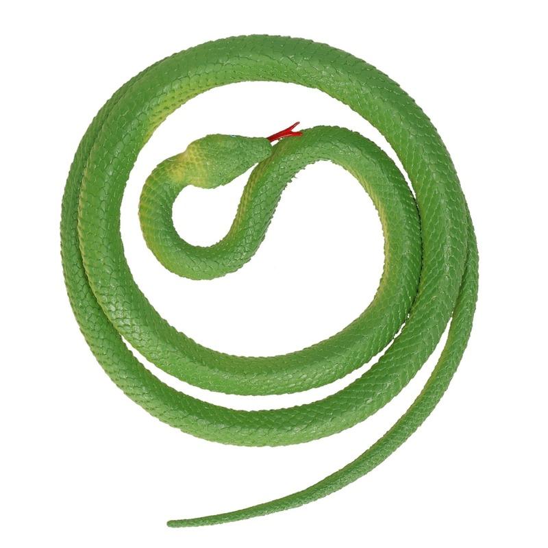 Mega rubberen dieren Python 137 cm