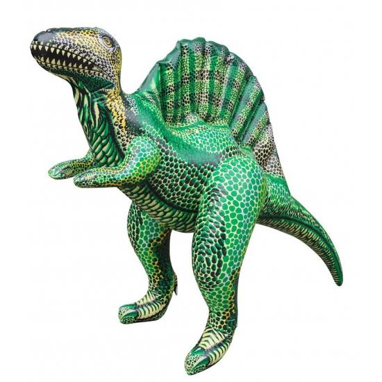 Opblaas Spinosaurus dino groen 76 cm