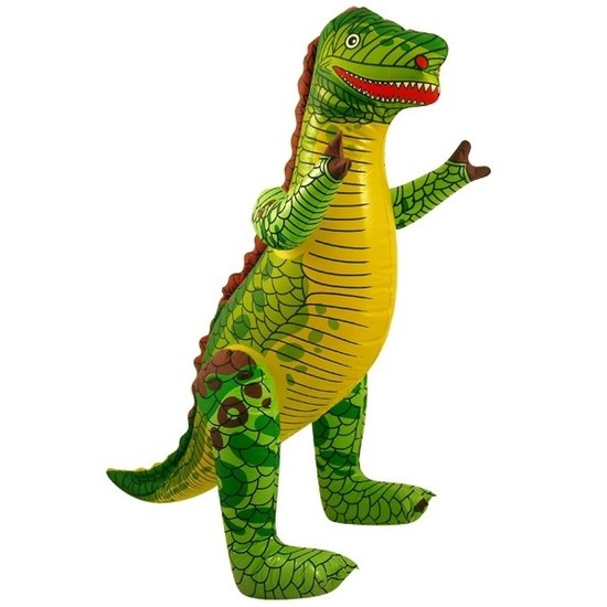Opblaasbare dinosaurus Tyrannosaurus Rex 76 cm