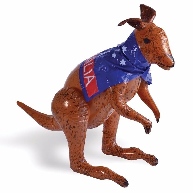 Opblaasbare kangoeroe decoratie