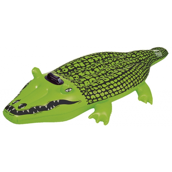 Opblaasbare krokodil 165 cm