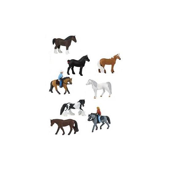 Paardjes speelgoed figuren setje