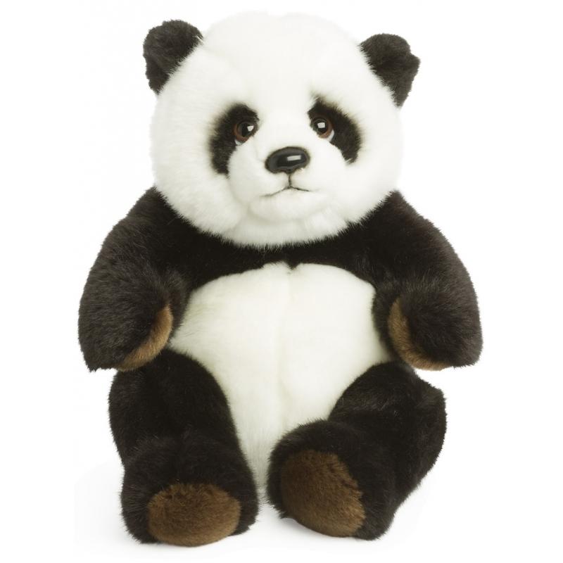 Panda beer van pluche 22 cm WNF