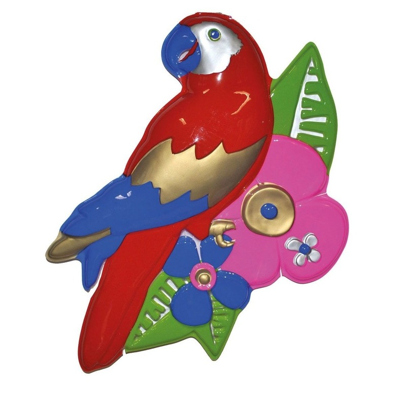 Papegaai decoratie 60 cm