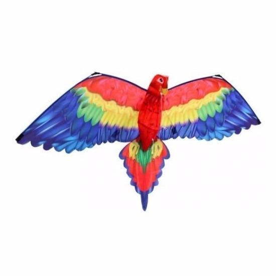 Papegaai vlieger 3D voor kinderen