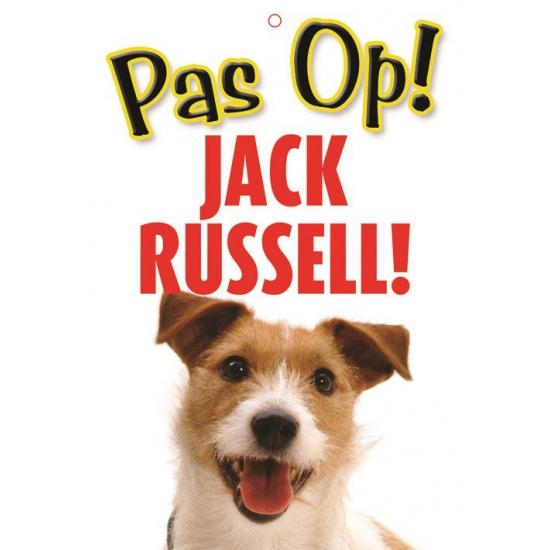 Pas op voor Jack Russell bordje