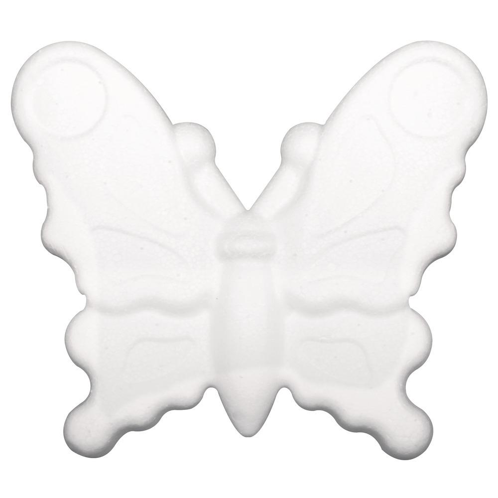 Piepschuimen vlinder 12,5 cm
