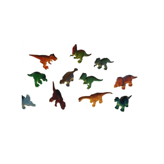 Plastic dinosauriers 16 cm