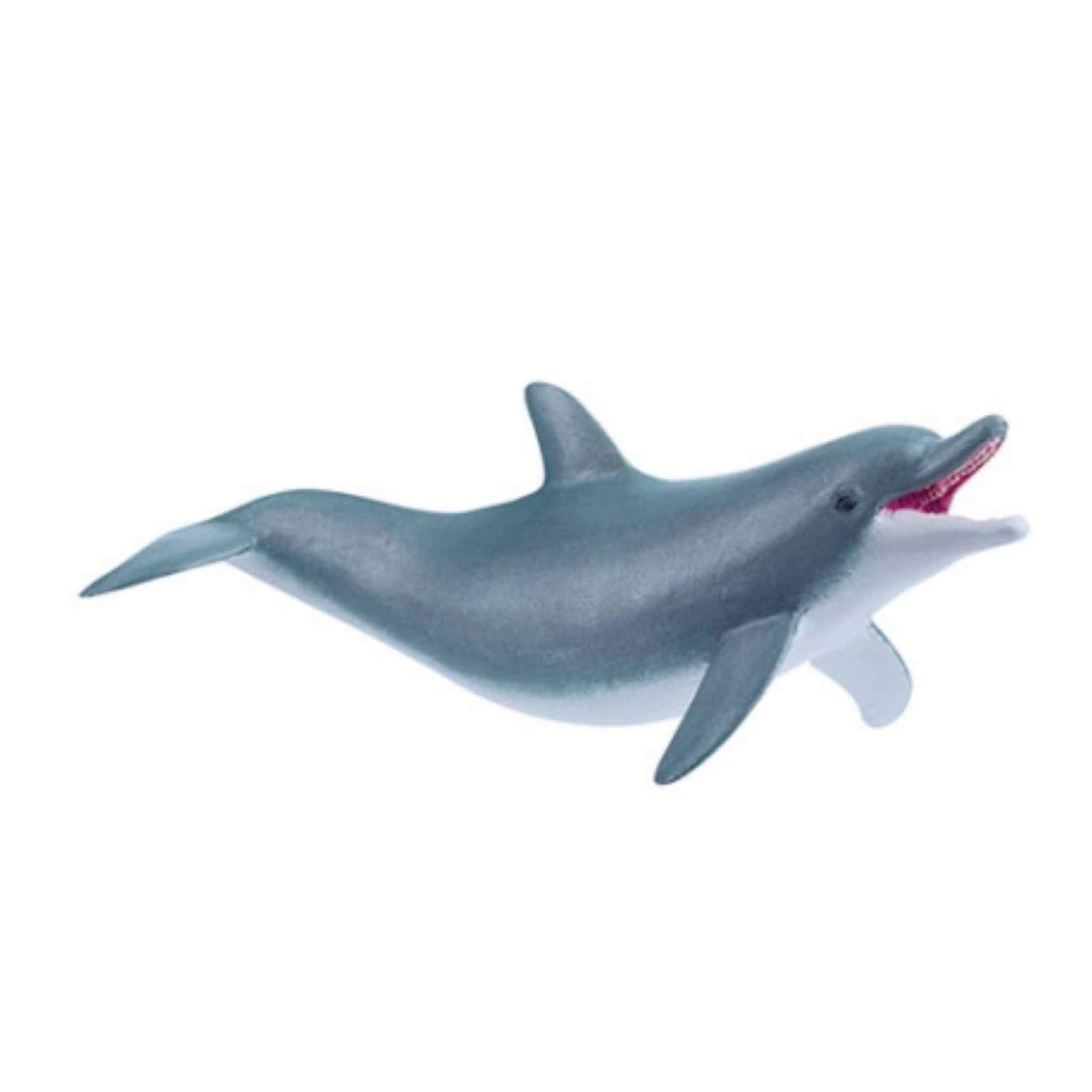 Plastic dolfijn speeldiertje 11 cm