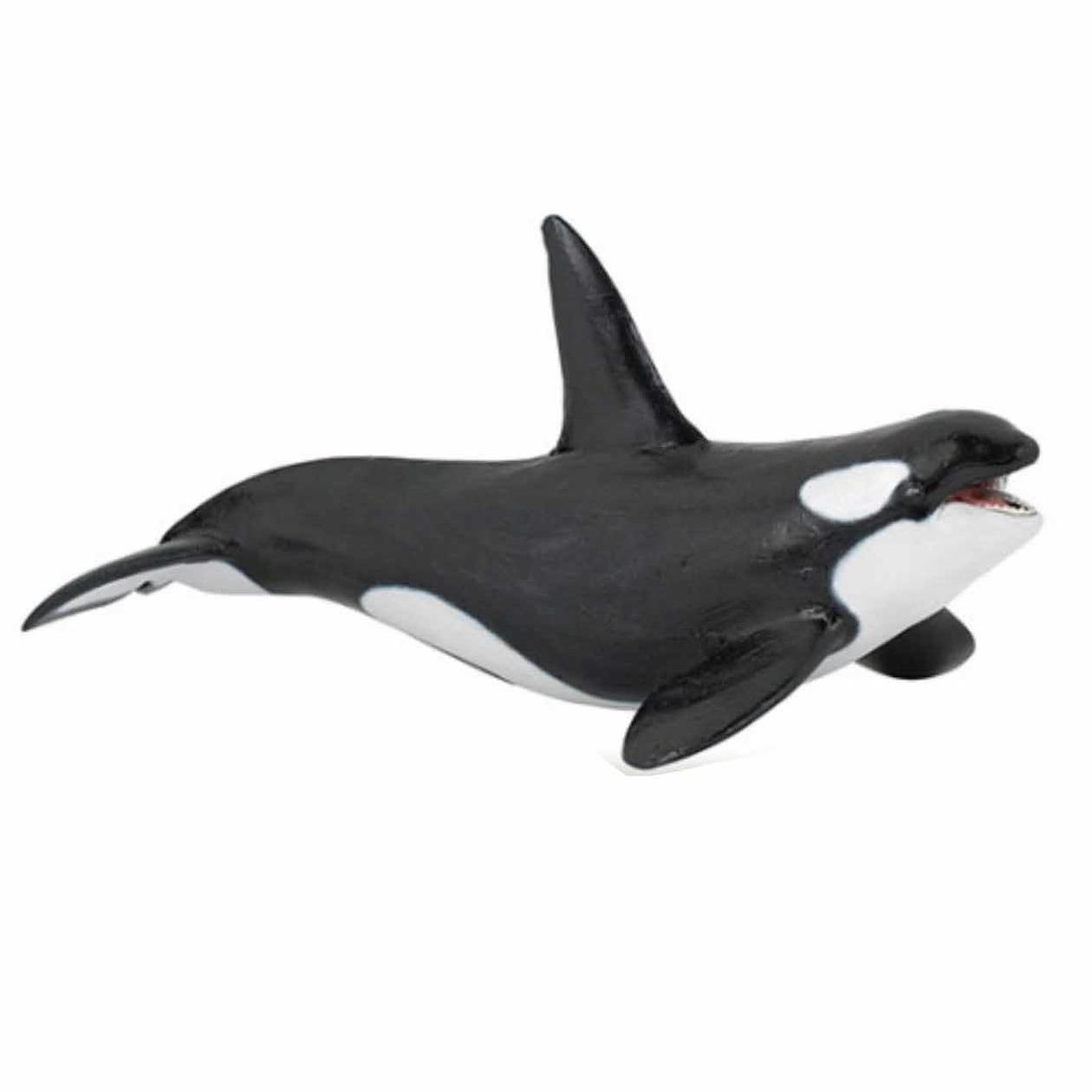 Plastic orka speeldiertje 18 cm