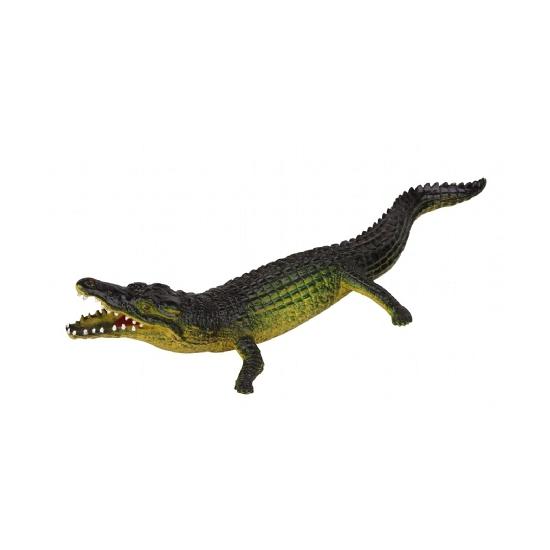 Plastic speelfiguur krokodil van 30cm
