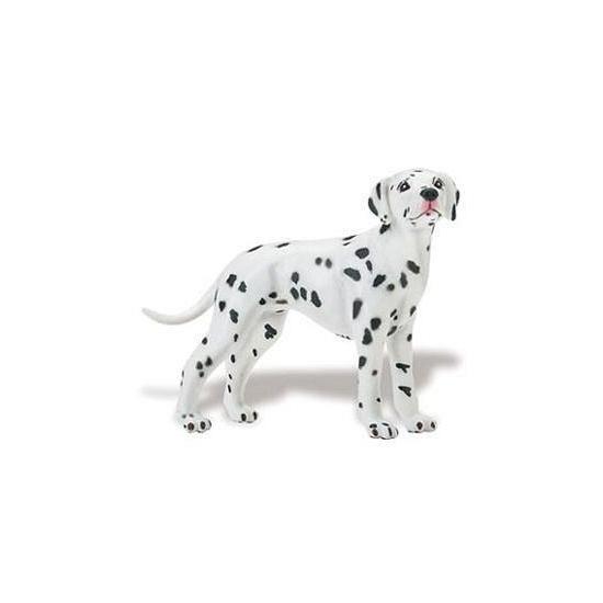 Plastic speelgoed Dalmatier hond 9 cm