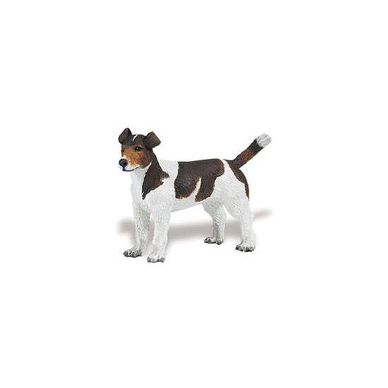 Plastic speelgoed Jack Russell hond 6 cm