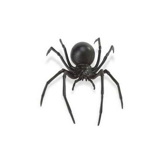 Plastic zwarte weduwe spinnen