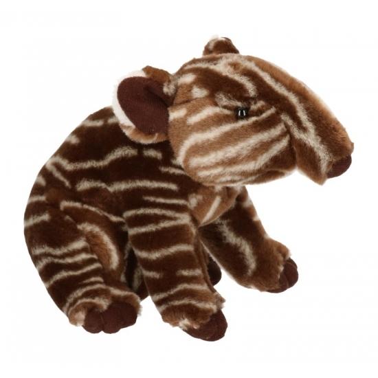 Pluche Afrikaanse tapir 23 cm