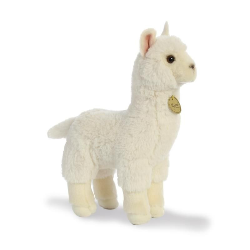 Pluche alpaca knuffel 30 cm