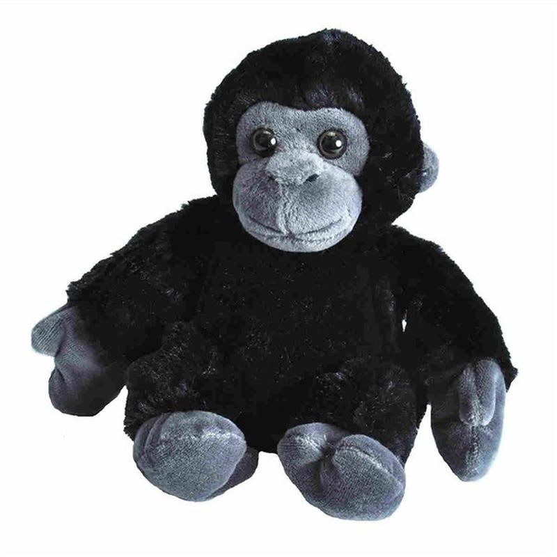 Pluche baby gorilla aap dierenknuffel 18 cm