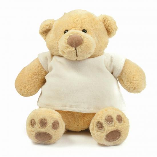 Pluche beren met t-shirt 38 cm