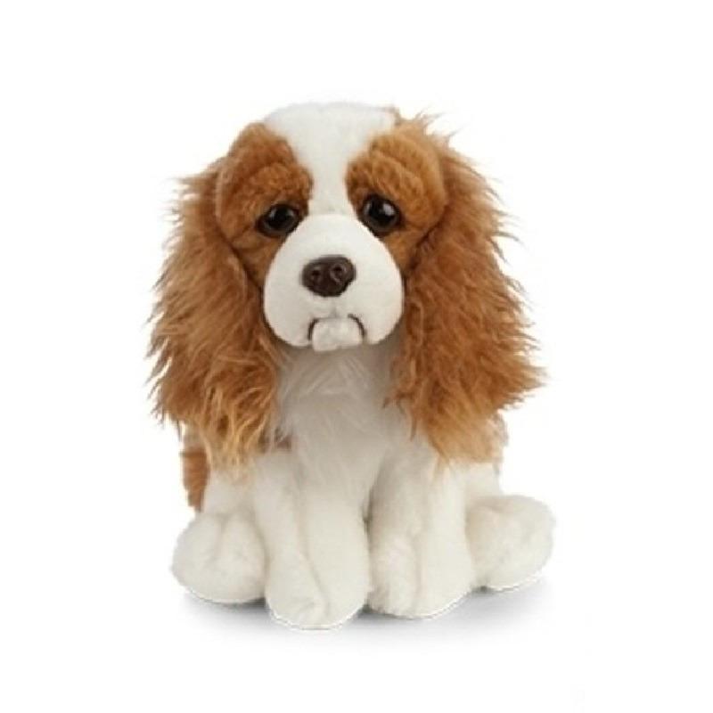 Pluche bruine Spaniel hond knuffeldier 20 cm