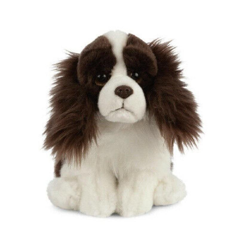 Pluche bruine Springer Spaniel hond knuffeldier 20 cm