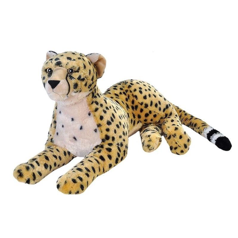 Pluche cheetah grote dierenknuffel 76 cm