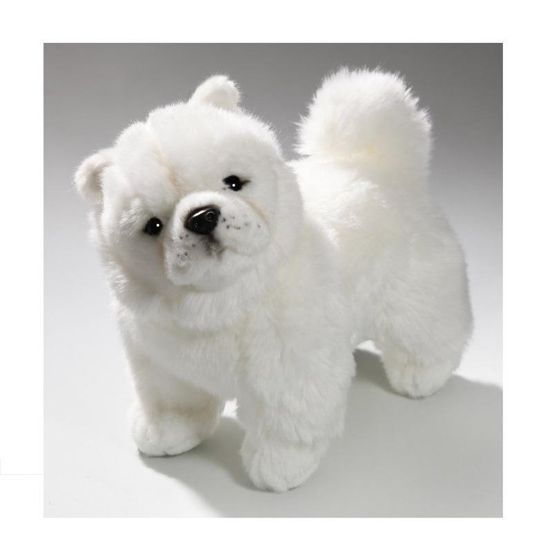 Pluche Chowchow hond knuffeldier 27 cm