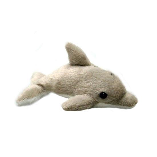 Pluche dolfijn knuffel sleutelhanger 10 cm