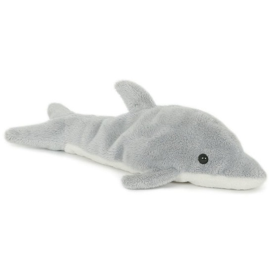 Pluche dolfijn knuffeldier 23 cm speelgoed