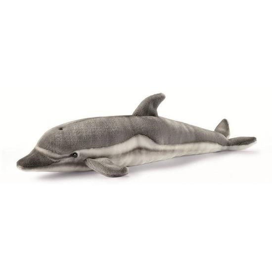 Pluche dolfijnen knuffel grijs