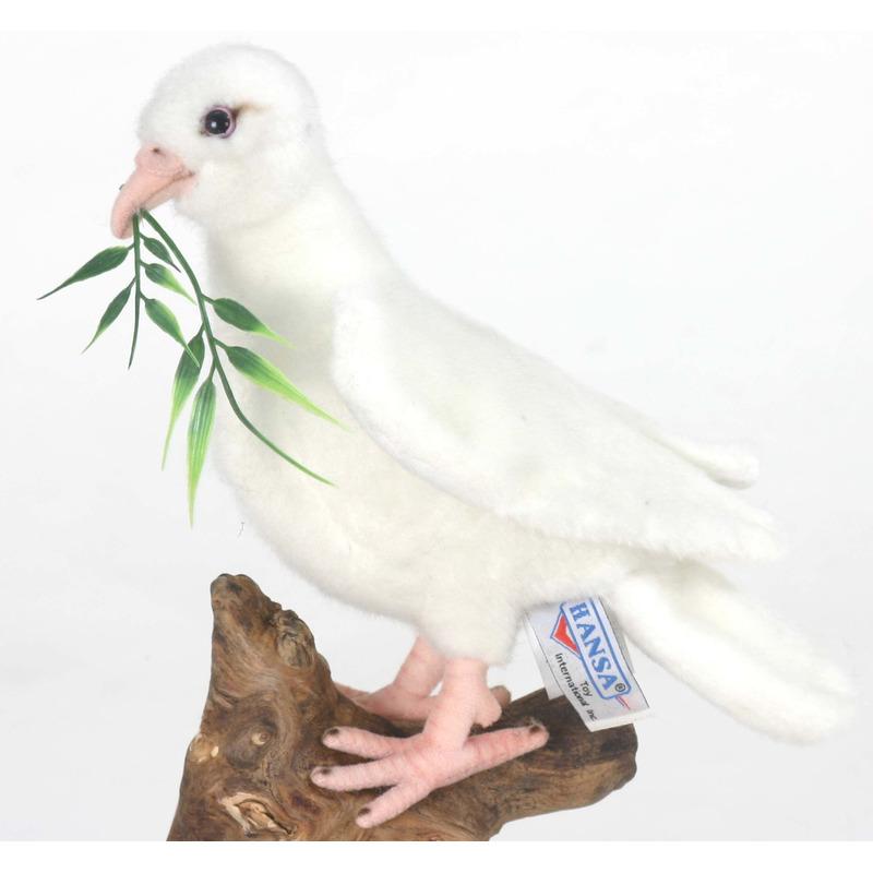 Pluche duiven knuffels 20 cm