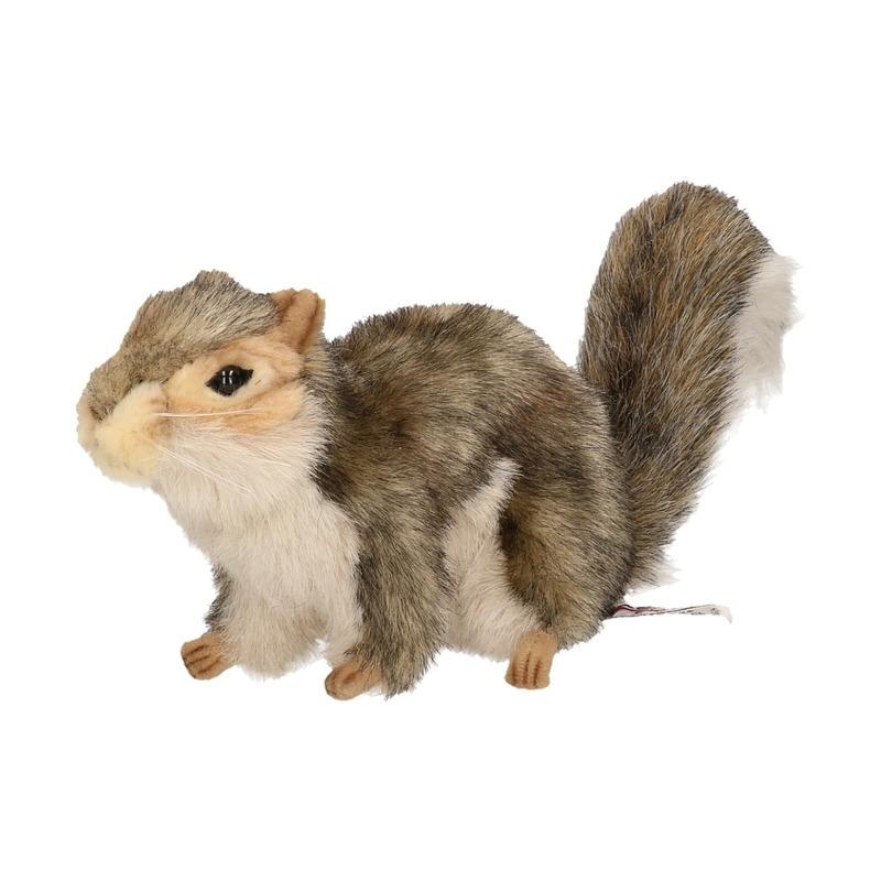 Pluche eekhoorn 22 cm de luxe