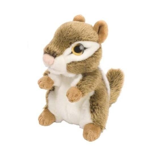Pluche eekhoorn knuffeldier 18 cm