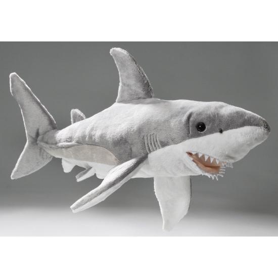 Pluche haai knuffel dier 50 cm