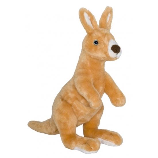 Pluche kangoeroe knuffeldier 34 cm
