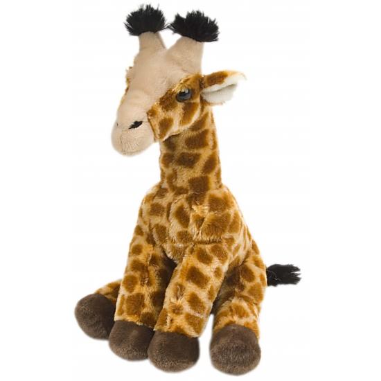 Pluche knuffel giraffe 30 cm