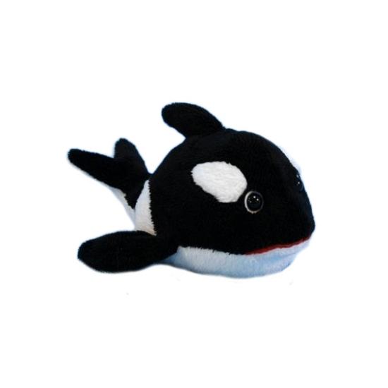 Pluche knuffel orka 13 cm