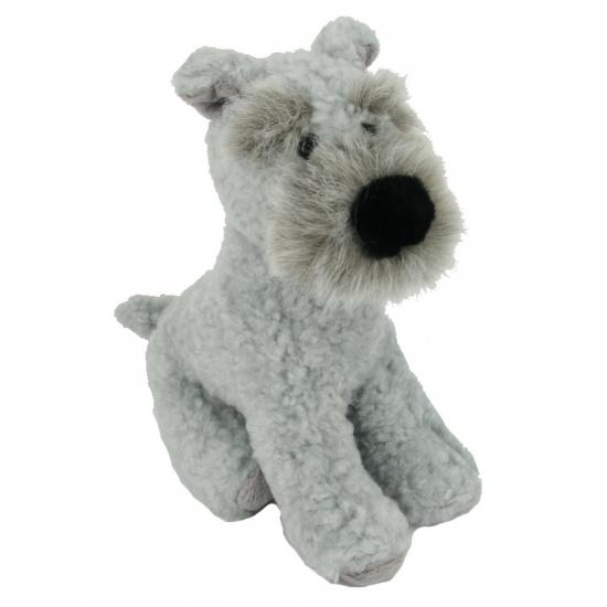 Pluche knuffel Terrier 17 cm
